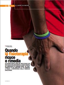 Articolo sull'importanza dell'osteopatia nello sport di Francesco Damiani su Correre