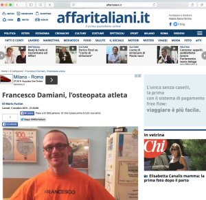 intervista Affari Italiani