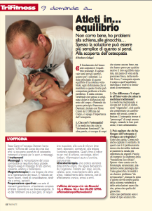 L'importanza dell'osteopatia nel triathlon, su Triathlete